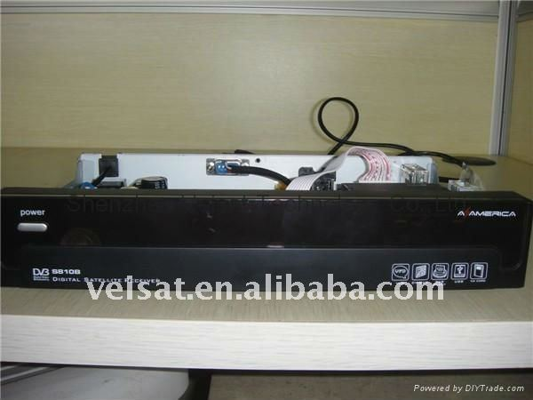 upgrade receiver decoder az america s810b