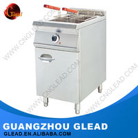 Guangzhou commercial gas fryer with temperature control