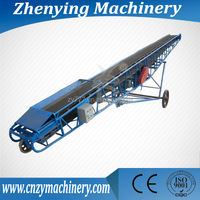 Inclined Adjustable Corn Belt Conveyor
