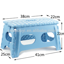 Top quality various color plastic stool price