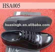 latest design no metal gloss formal dress men rubber sole shoes