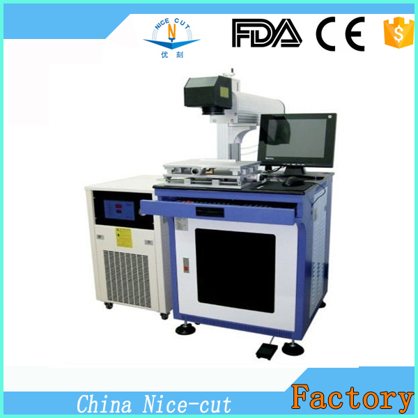 high quality NC-D 50W fiber laser marking machine price metal for marking logo