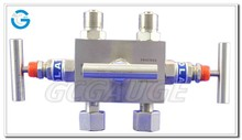 High quality two way three way five way pressure gauge valve