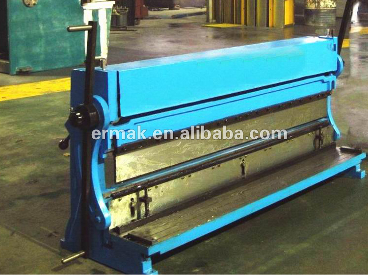 3 IN 1 Manual combination Shear Press Brake and Slip Roll Manual Shear Bend Roll Machine