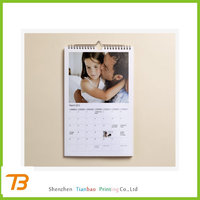 Cheap insert photo calendars 2014 printing
