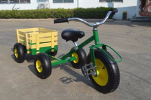 cheap All terrain tricycle with wagon