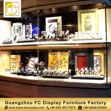shop interior design wall mounted watch display case watch display showcase display stand