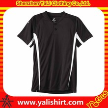 Top quality breathable color block short sleeve polyester cheap custom slow pitch softball jerseys