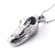 Popular Style Products Sneaker Stainless Steel Sports Shoes Pendants