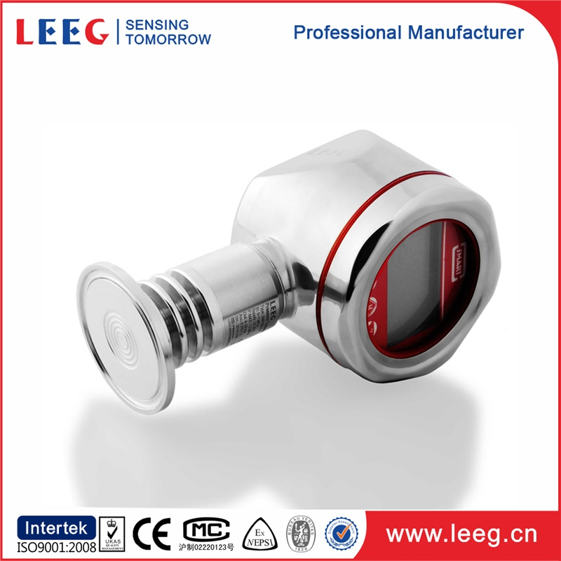 capacitive pressure transmitter with aluminum housing
