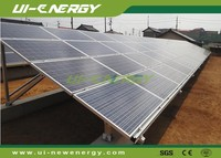 Easy installation aluminium solar panel pv mounting structure for solar energy system