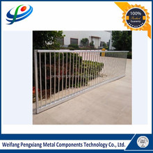 Simple high quality steel gate design for villa