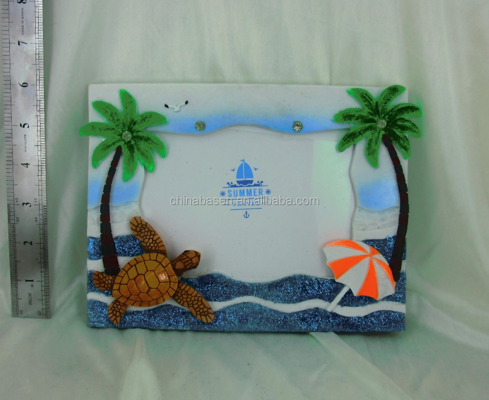 sea type large decorative picture photo frame