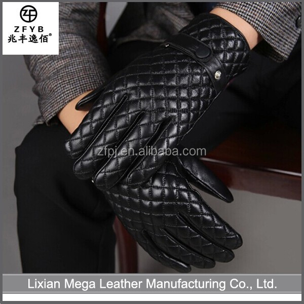 Made in China Hot Sale leather gloves in Europe