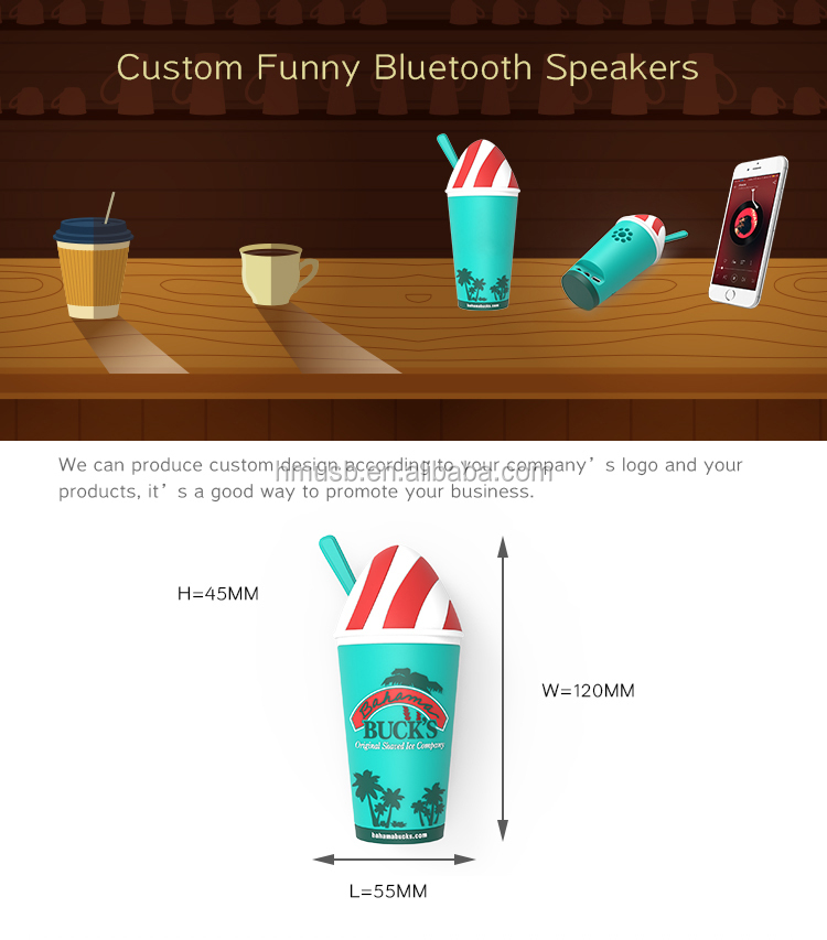 Mini Tiny Customize 40W Wireless Speaker for Outdoor Music Playing