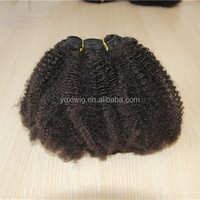 hot selling afro kinky curly braiding human hair weavings,kinky curl brazilian hair extensions