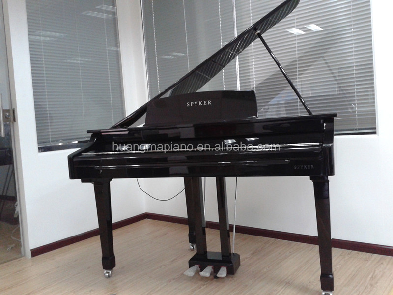 Digital Piano Factory 88 keys MIDI Black Polish Digital Grand Piano HUANGMA HD-W086 speaker system sea piano