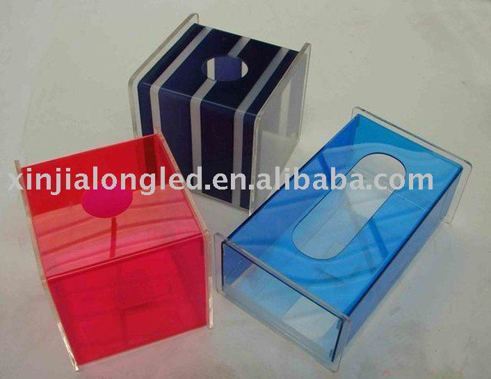 Rectangle Acrylic Paper Box Acrylic Tissue Box Acrylic Napkin Box Wholesale