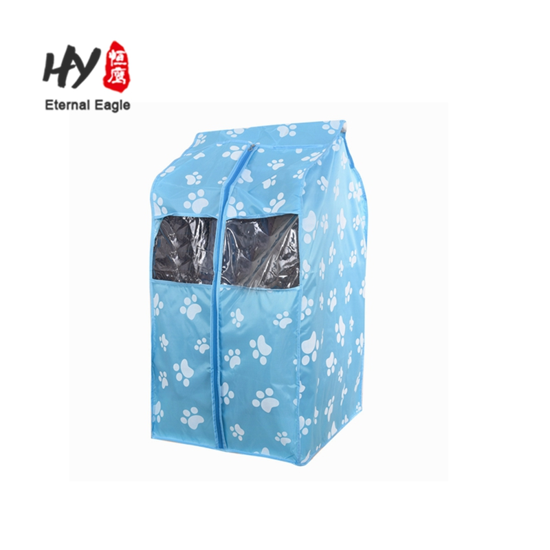 Foldable zip lock non woven suit cover cloth garment bag