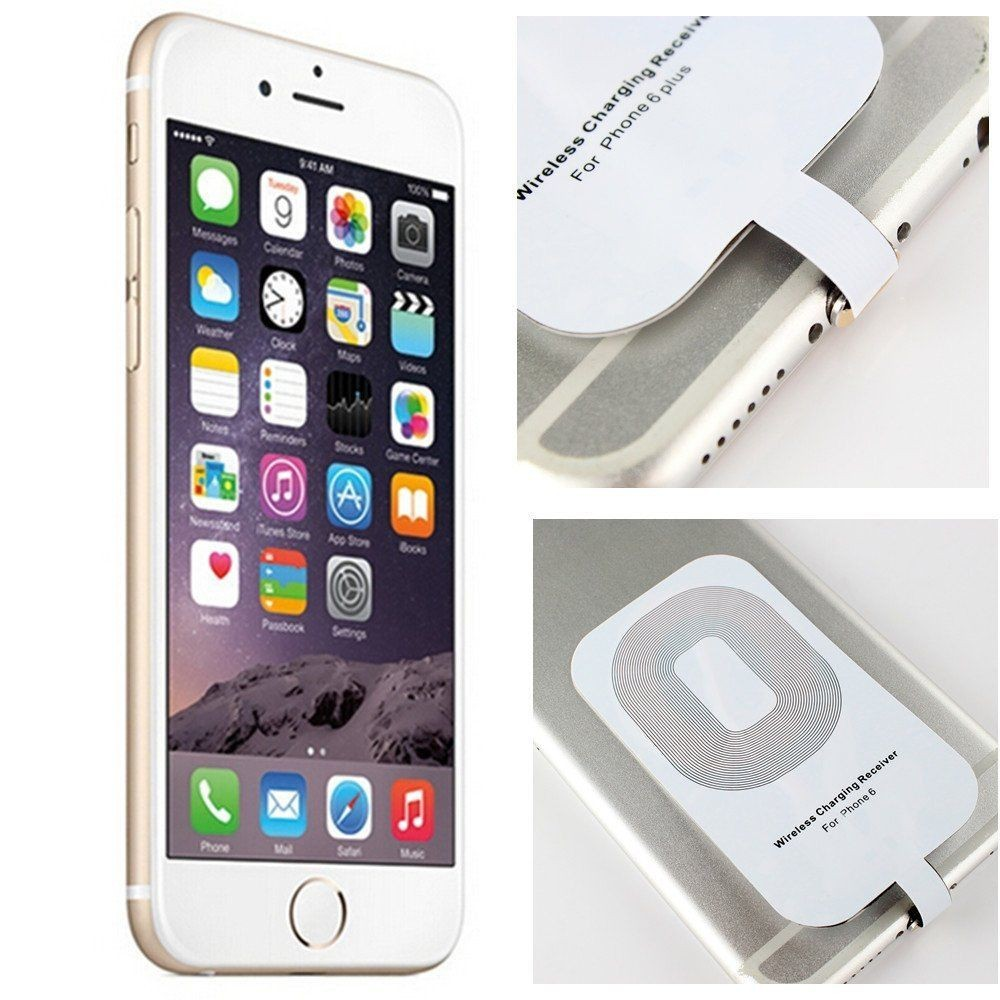 New Qi Wireless Charging Pad and wireless receiver Used for iPhone Charger