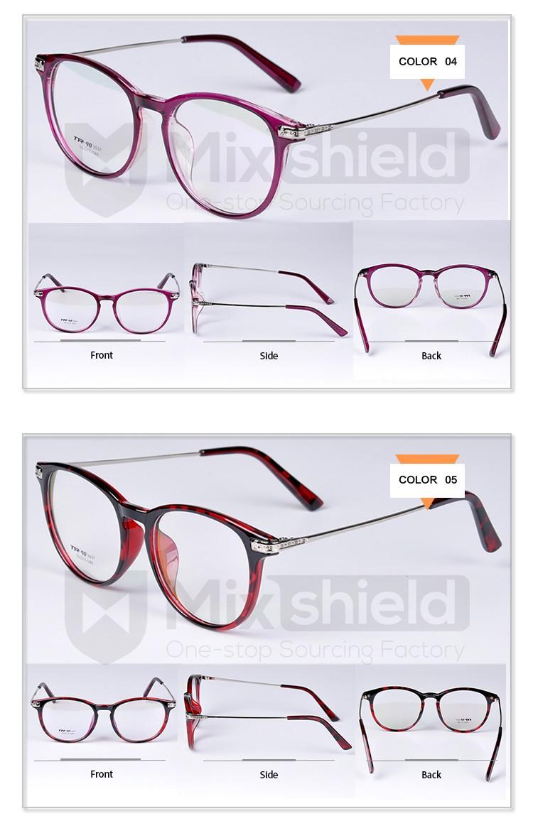 2015 Popular Eyeglasses Frames,Plastic & Copper Material ...