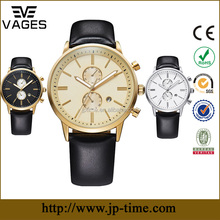 luxury brand mens watch custom logo small order no minimum,custom mens watch chronograph function