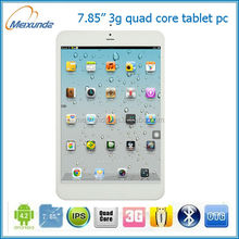 Newest designed 8 inch quad core tablets ddr3 ram smart pad android 4.2.2 tablet pc