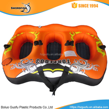 Swordfish New 3 players Inflatable&Towable water ski Boat