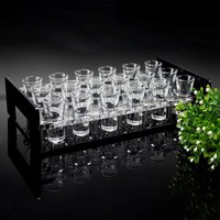 Shot Glass Acrylic Serving Stand for 18 Glasses