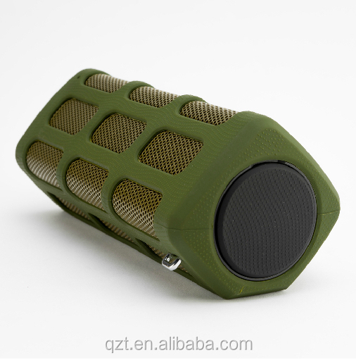 hot sale high quality dustproof waterproof mine bluetooth wireless speaker with fm radio loudspeaker