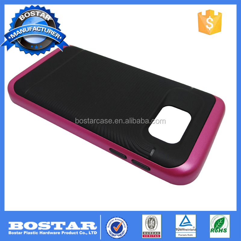 Top Sale 5 Inch 2 In 1 Mobile Phone Case For S6 Edge Samsungs Mobile Phone