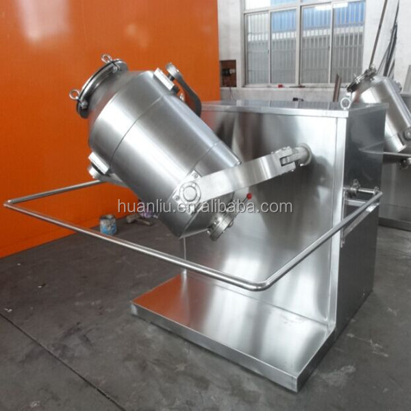 3D Food Industrial Chemical Industrial Dry Small Powder Mixer