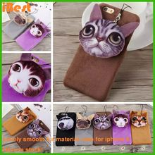iBest dog phone case Hand Feel case for iphone6s 6plus back cover 3d animal sex mobile phone case
