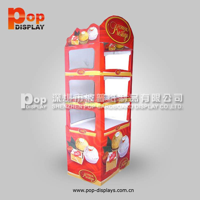 Wholesales Factory funko pop display stands, 4-side honey store pop diaplay
