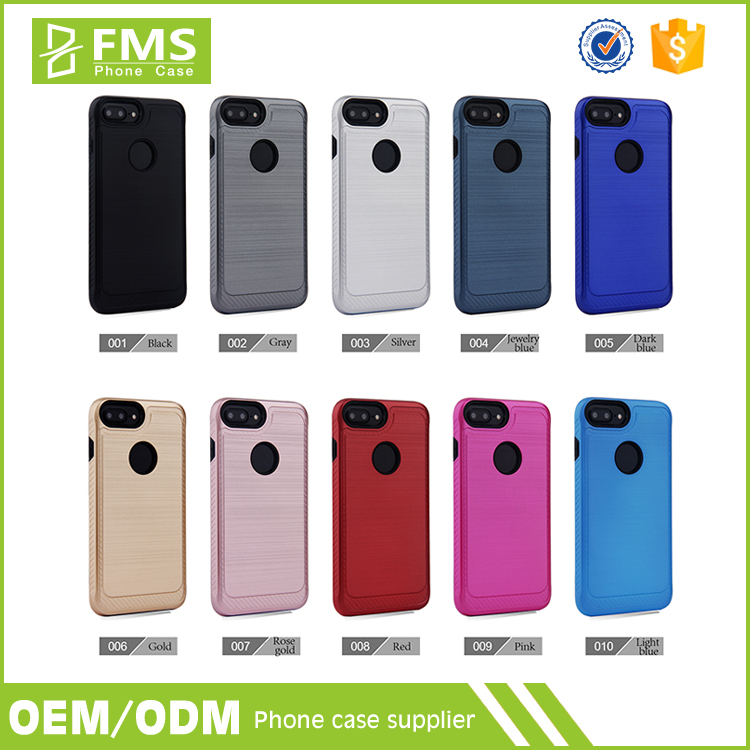 2016 Wholesale Accessories Manufacturing Factory Cell Case Private Label Printing Mobile Phone Aluminium Case Cover