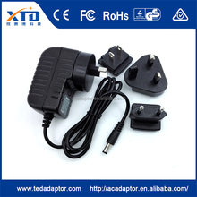 High efficiency 12V AC DC Power Adapter for CCTV Camera