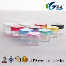 3g 5g 10g 15g 20g jars cosmetic containers ps cream container