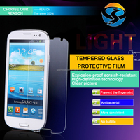 alibaba china suppliers!!mobile phone tempered glass screen protector for samsung s4mini