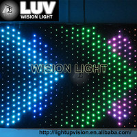 LUV-LVC203 2m*3m led screen stage back drop video light and thin