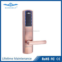 Five latch RFID card hotel electric door lock with access control system