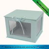good quality food Industrial use design custom small paper cupcake box with pvc window