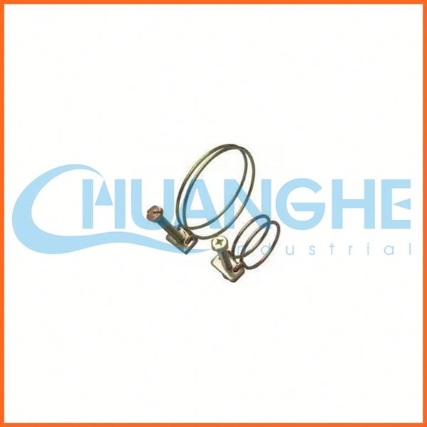 galvanized steel double wire hoops