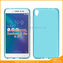 transparent clear tpu cover for Asus Zenfone 3 Go Live ZB501KL gel case