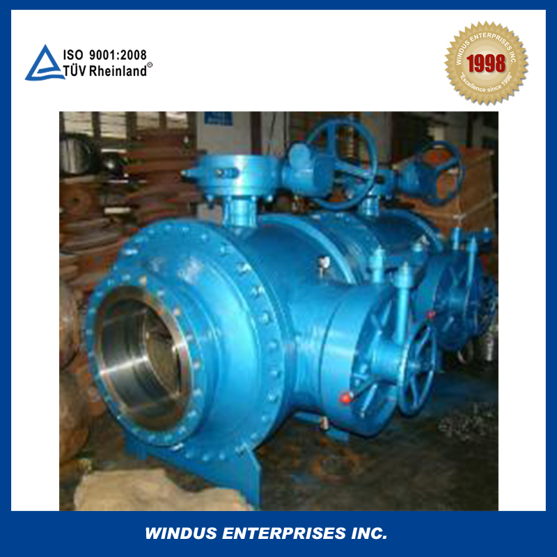 China made AIP 6D stainless steel High performs pig ball valve