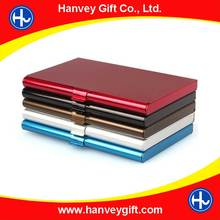 PU leather / Aluminum / ABS case credit Card Holder, coporate gift Card Case, Visiting Card box
