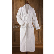 Wholesale Shawl Collar Velvet high quality bathrobe on sale Cotton Bathrobe