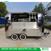 Good Quality Stainless Steel Pizza Food Trailer Cart