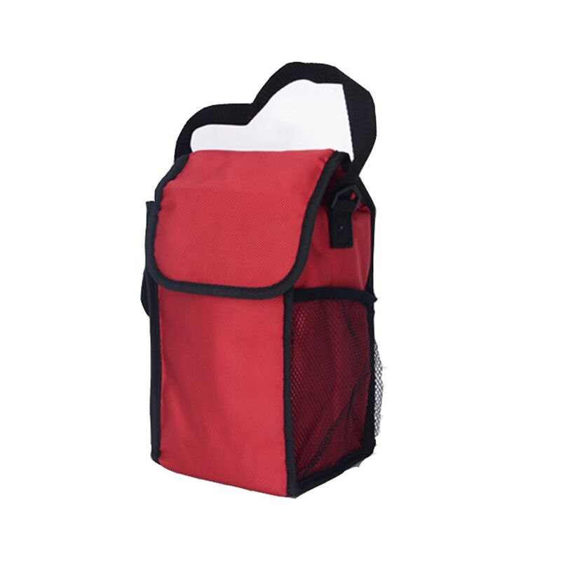1680D Oxford Red Portable Insulated Outdoor Lunch Cooler Bag