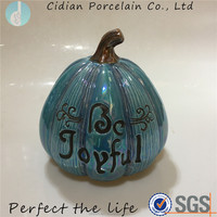 Ceramic pumpkin for Harvest decoration
