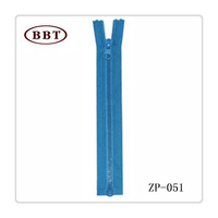 YIWU High Quality Wholesale Prices double slider two way nylon zipper no.3